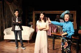 Christopher Tsui (Sebastian), Joyce Cece Chan (Henriette) and Rosalind Wong (Justine)