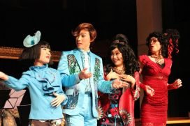 Rosalind Wong (Justine), Joseph Lin (C.Y. Tang), Minna Cheung (Pamela) and Francis Chan (Bernice)