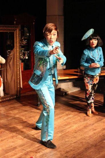 Joseph Lin (C.Y. Tang) and Rosalind Wong (Justine)