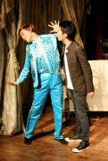 Joseph Lin (C.Y. Tang) and Christopher Tsui (Sebastian)