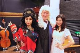 Minna Cheung (Pamela), David Parker (The Notary) and Joyce Cece Chan (Henriette)